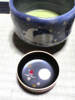 お茶碗とお棗