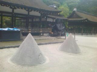 雨の上賀茂神社