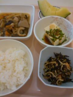 土曜日の昼食