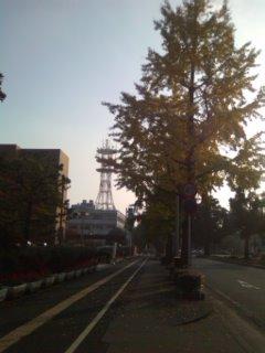 徳山駅にむかって