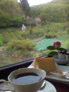 花見山のカフェ