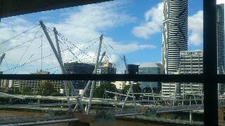 新館からの眺め