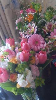 花いっぱい(^ー^)
