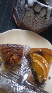 アラモードのケーキ