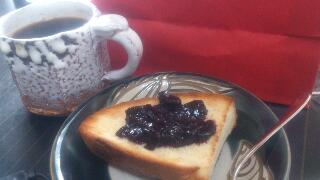 フォカッチャの朝ごはん