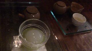 銀座の茶ノ木にて